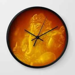 Ganesh, remover of obstacles Wall Clock