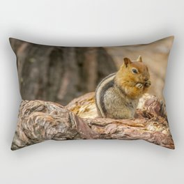 The Squirrel and the Redwood Rectangular Pillow