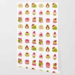 Strawberry Matcha Wallpaper