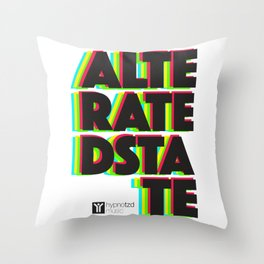 Alterated State Throw Pillow