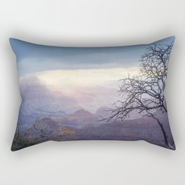 Breaking the Darkness Rectangular Pillow