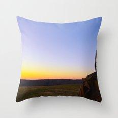 Facing Dawn Throw Pillow