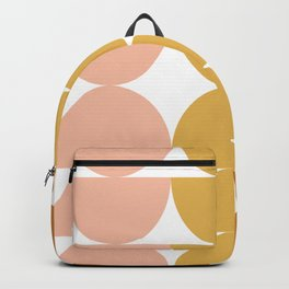 Simple Shapes in Earth Tones Backpack