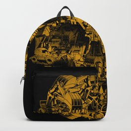 Skull Heavy Equipment Backpack