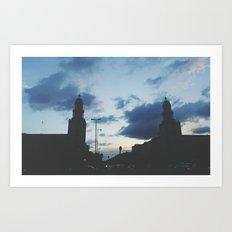 Berlin, Frankfurter Tor Art Print