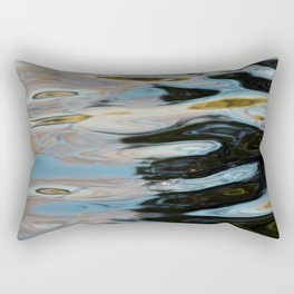 Abstract Water Surface Rectangular Pillow