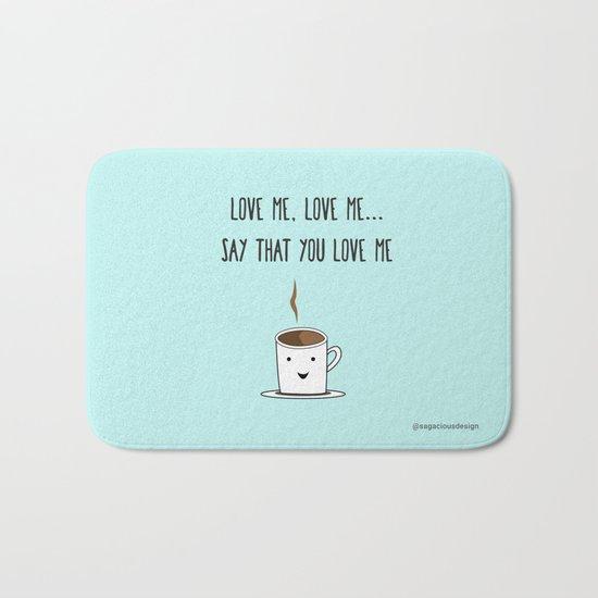 Coffee Love Bath Mat