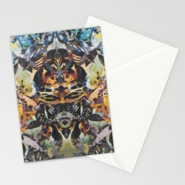Rorschach Flowers 2 Stationery Cards