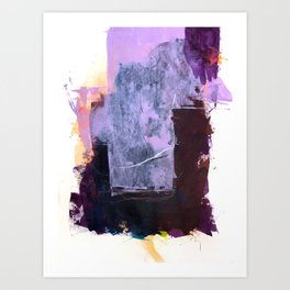 The Silence Is Erased Art Print