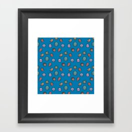 A Tangle of Tentacles Framed Art Print