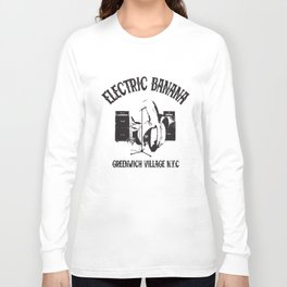 A Tribute To Spinal Tap Electric Banana Club Cult Movie Electric T-Shirts Long Sleeve T-shirt