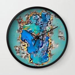 Waters Edge Wall Clock