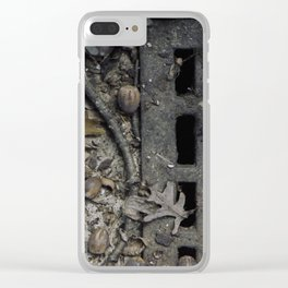 Fall Details Clear iPhone Case