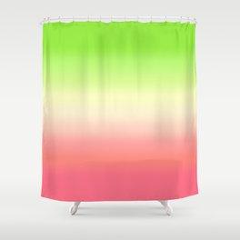 Guava Gradient Shower Curtain