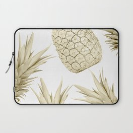 Gold Pineapple Party Laptop Sleeve