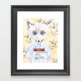 Unaccompanied Minor Framed Art Print