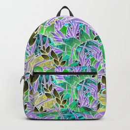 Floral Abstract Artwork G127 Backpack