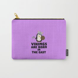 Vikings are born in the East T-Shirt De9u6 Carry-All Pouch
