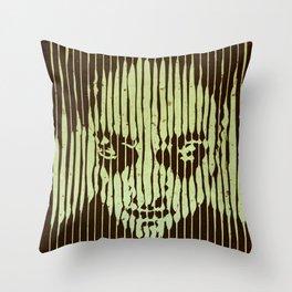 no casualities - green version Throw Pillow