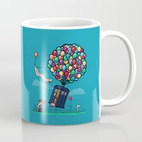 hallion Mugs featuring Come Along, Carl by Karen Hallion Illustrations