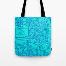 #MoleskineDaily_48 Tote Bag