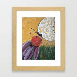 Beauty Within - Panel 2 Framed Art Print