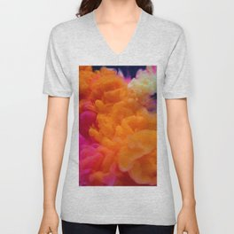 Colors Explosion Unisex V-Neck