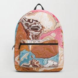 Oil colored rocks 02 Backpack