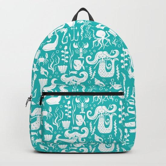 Under The Sea Aqua Backpack