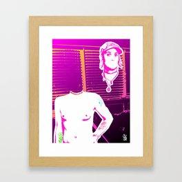 Feeling Something Awful Strange Framed Art Print