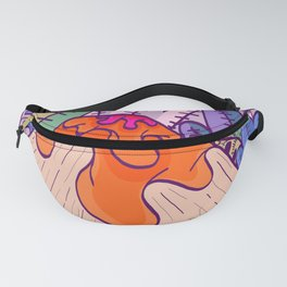 The volcano and the jungle Fanny Pack