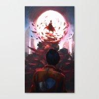 akira Canvas Prints featuring Akira by °thoOm