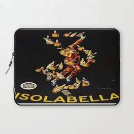 Vintage poster - Isolabella Laptop Sleeve