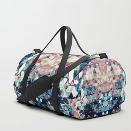 Colorful Abstract Triangles Duffle Bag