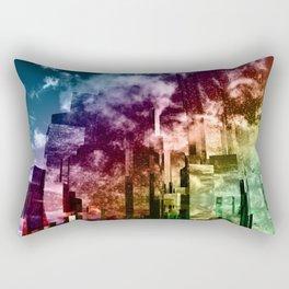 Q-City Three Rectangular Pillow