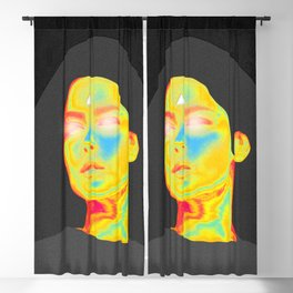 Colorful Reality Projector Blackout Curtain