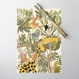 Th Jungle Life Wrapping Paper