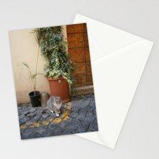 roman cat Stationery Cards