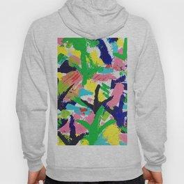 Bird Tracks, Abstract Art Hoody