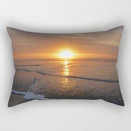 Sun-kissed Sea Rectangular Pillow