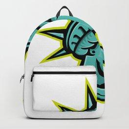 Lady Liberty or Libertas Mascot Backpack