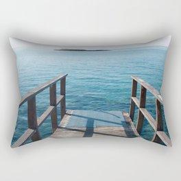Into the sea Rectangular Pillow