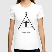 true detective T-shirts featuring True Detective by Deep Search