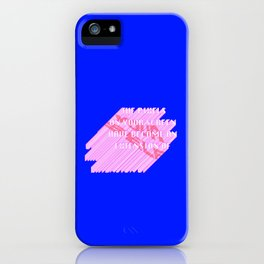 THE PIXELS ON YOUR SCREEN HAVE BECOME AN EXTENSION OF YOURSELF iPhone Case