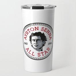 Ayrton Senna Converse All Star Icon Travel Mug