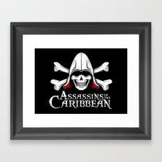 Assassins of the Caribbean Framed Art Print