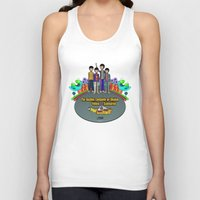 yellow submarine Tank Tops featuring Yellow Submarine by The Beatles Complete On Ukulele