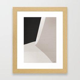 Desert Contours No. 1 Framed Art Print