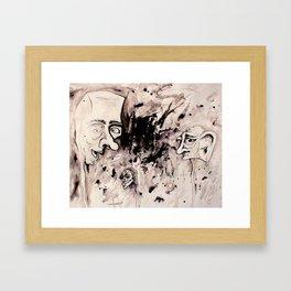Chaos Shows Details Framed Art Print