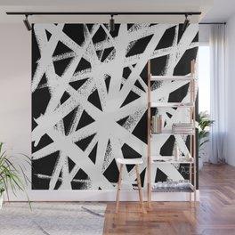 So Cross White Wall Mural